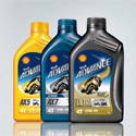 Shell Advance 4T AX7 10W40 bottle 1 Lt.